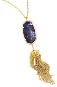Kendra Scott Kendra Scott Rayne Long Necklace In Blue Sodalite