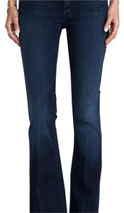 Mother Flare Leg Jeans-Dark Rinse