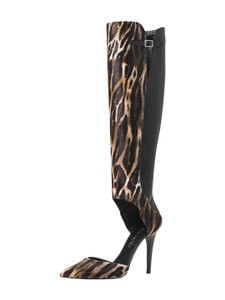 Tamara Mellon Jungle Brown Boots