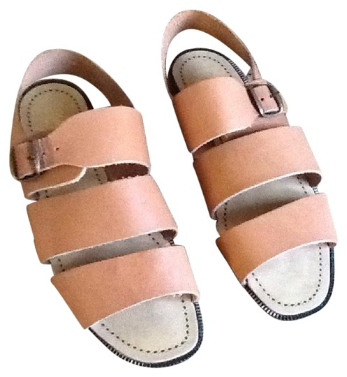 Preload https://img-static.tradesy.com/item/21125996/tan-boho-italian-leather-gladiator-sandals-size-us-8-regular-m-b-0-1-540-540.jpg