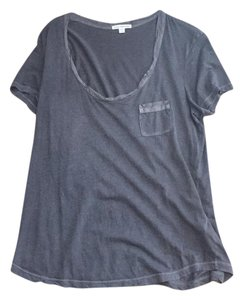 James Perse T Shirt heathered gray