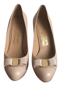 Salvatore Ferragamo New Bisque Pumps