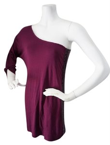 Plum Purple Maxi Dress by Guess By Marciano Plum Sequin One