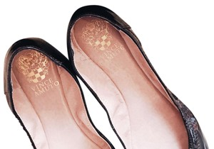 Vince Camuto Ruby Black Flats