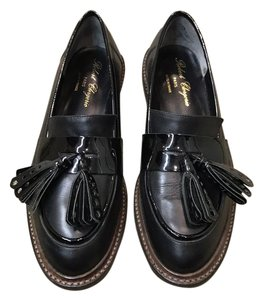 Robert Clergerie Leather Loafer Penny Loafer Tassels black Flats