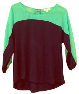 Charming Charlie Top navy / teal
