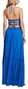 Blue Maxi Dress by Southern Girl Fashion Long Draped Easter Spring Summer Maxi Royal Long Gown