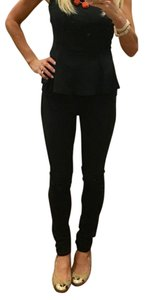 AG Studio Ag black maternity jeans - with some distressing