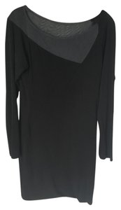 Rag & Bone short dress Black Sheer Longsleeve Asymmetrical Fitted And on Tradesy