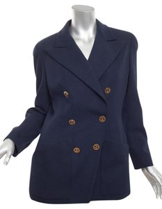 Chanel Double Breast Vintage Pea Coat