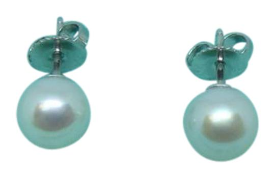 25af00396d1b43 Tiffany & Co. 18k White Gold Pearl Signature(Tm) Earrings - Tradesy