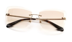 Chanel Chanel 2016 Sunglasses Rimless Brown BUTTERFLY Gradient Lens 71178