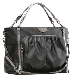 MZ Wallace Tote in Graphite Luster