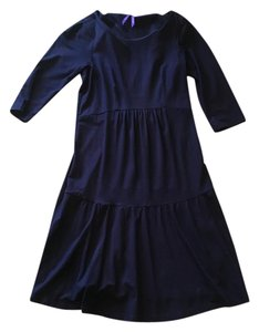 Sraphine Navy Seraphine maternity dress - 3/4 length sleeve size 2