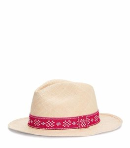 Tory Burch RIBBON-TRIM FEDORA