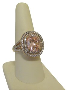 Victoria Wieck Victoria Wieck Simulated Pink Sapphire Ring 8