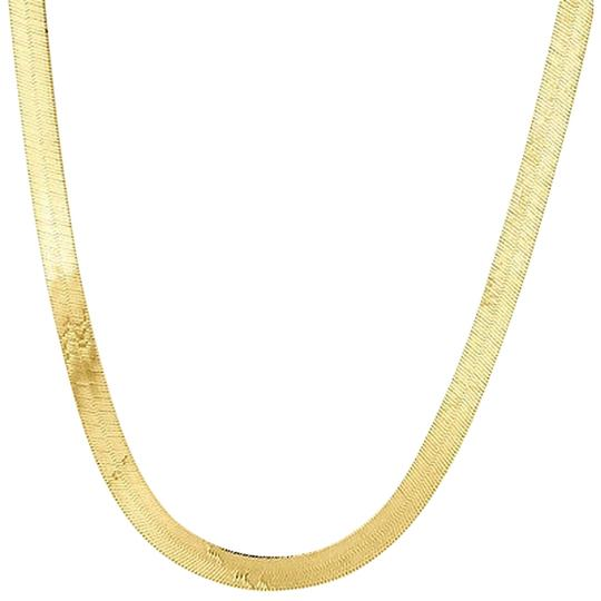 Preload https://item3.tradesy.com/images/10k-yellow-gold-solid-necklace-silky-herringbone-475mm-chain-16-24-inches-2112752-0-0.jpg?width=440&height=440