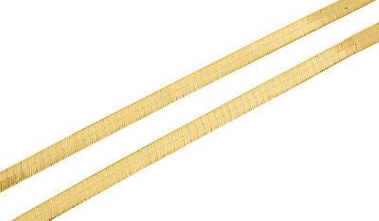 Other 10k,Yellow,Gold,Solid,Necklace,Silky,Herringbone,4.75mm,Chain,16,-,24,Inches,