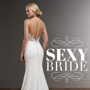 Martina Liana Illusion Back Wedding Dress Wedding Dress