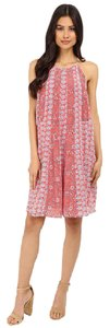 Rebecca Taylor short dress Tangerine Pink on Tradesy