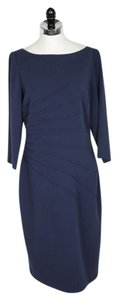 David Meister short dress Blue on Tradesy