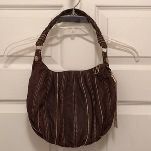 Laundry by Shelli Segal Leather Designer Lambskin Hobo Shoulder Bag