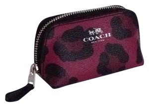 Coach small cosmetic case