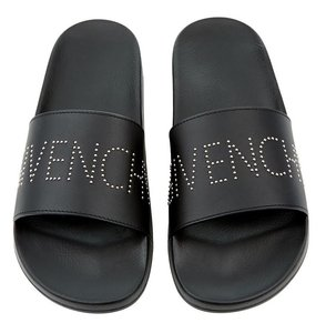 Givenchy Logo Black Sandals