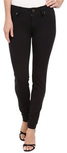 Lilly Pulitzer Stretchy Casual Rayon Skinny Pants Black