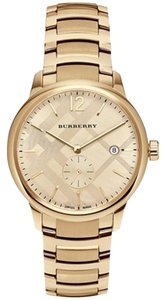 Burberry Men's Swiss Gold-Tone Ion-Plated Stainless Steel Watch bu10006