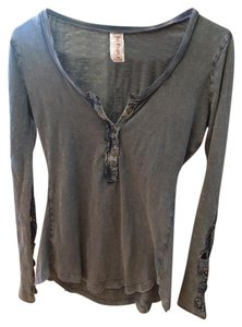 Free People T Shirt gray