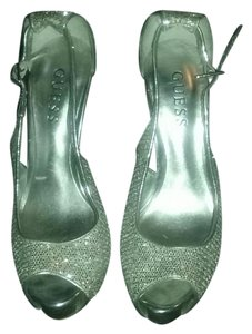 Guess Silver sparkle Formal