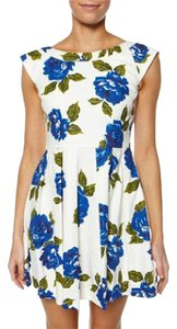 MINKPINK short dress Floral Print Fit & Flare Sleeveless on Tradesy