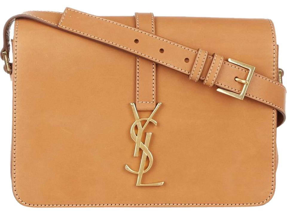 dbc991c629d Saint Laurent Monogram Université Monogrammed Medium Natural Tan ...