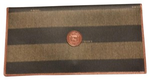 Fendi Brown And Black Clutch