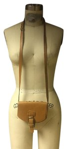 Le Château Vintage Leather Equestrian Hobo Vintage Chic Shoulder Bag