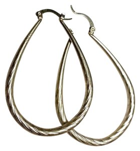 Other New Sterling Silver Hoop Earrings E5001