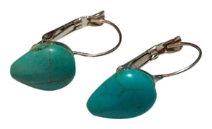 Other New Turquoise French Hook Handmade Earrings J3266