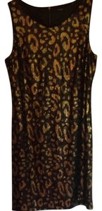 Elie Tahari Sequin Holiday Dress