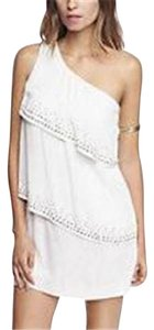 Express Embellished Lwd Small Dress