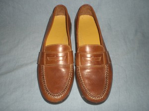Cole Haan Brown Men's Leather 01462 Slip On Loafer Size 10.5 N Shoes