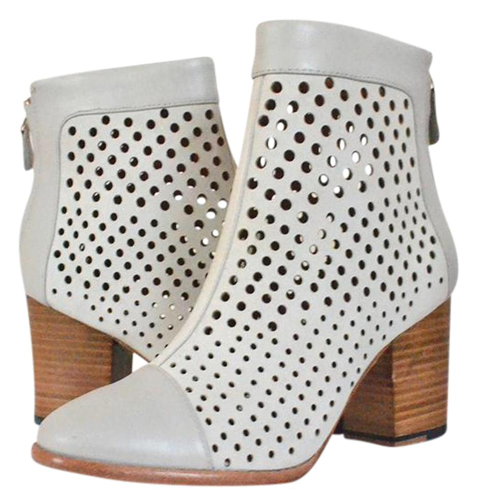 Rebecca Minkoff - Gray - Leather Perforated - Minkoff M / 38 Boots/Booties 2fac2a