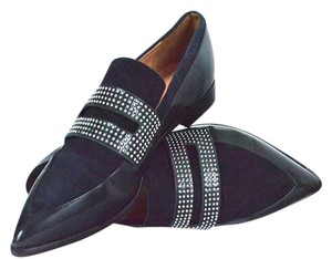 Sigerson Morrison Navy Flats