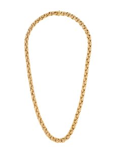 Tiffany & Co. Tiffany & Co 18k Byzantine Braided Chain Necklace.