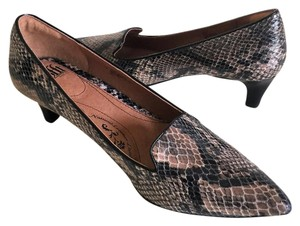 Eürosoft by Söfft Snakeskin Kitten Heel Multi-Color Reptile Animal Print Pumps