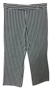 Gap Beachy Boho Striped Capris Blue, White