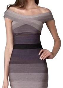 Hervé Leger short dress ombré on Tradesy
