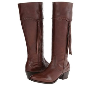 Ariat Leather Cowboy Riding Espresso Boots