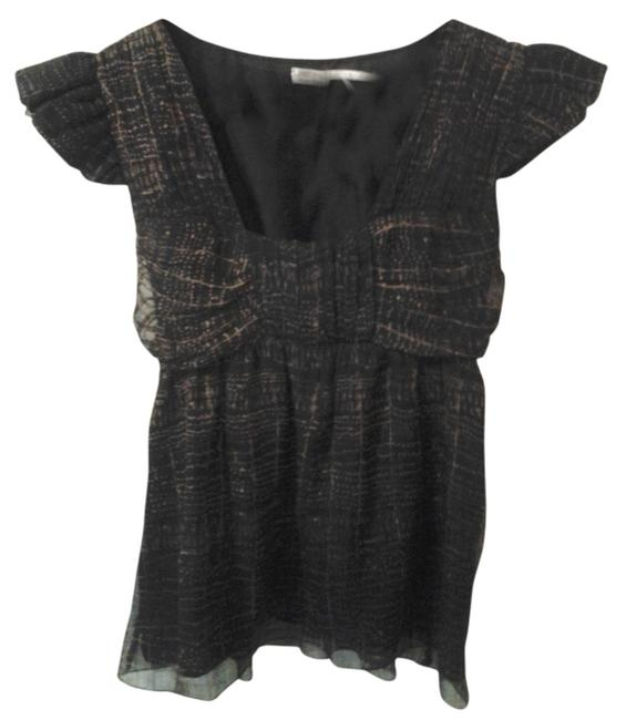 Preload https://item5.tradesy.com/images/leon-max-silk-xs-top-brown-and-black-2112939-0-0.jpg?width=400&height=650
