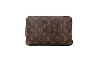 Louis Vuitton Vintage Trousse 23 Monogram Canvas Travel Dopp Toiletry Makeup Bag